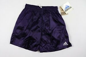 Vintage-90s-New-Adidas-Youth-Large-Genoa-Spell-Out-Nylon-Soccer-Shorts-Purple
