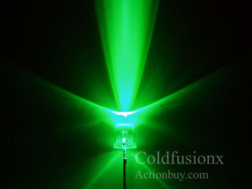 20x 5mm Green  LED good for car boat  motorcycle