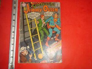 d7d07ea882c1 JE749 Vintage 1967 DC Comic Book Superman s Pal Jimmy Olsen No.106 ...