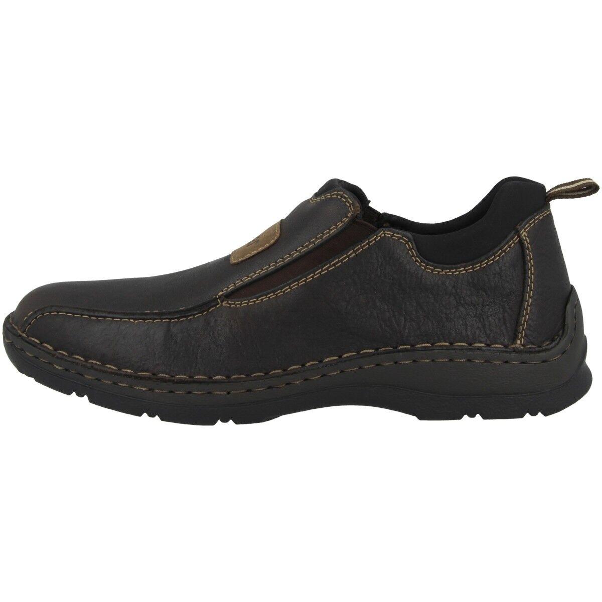 Rieker Michigan-Velvet-Scuba Men Schuhe Herren Halbschuhe Slipper brown 05363-25