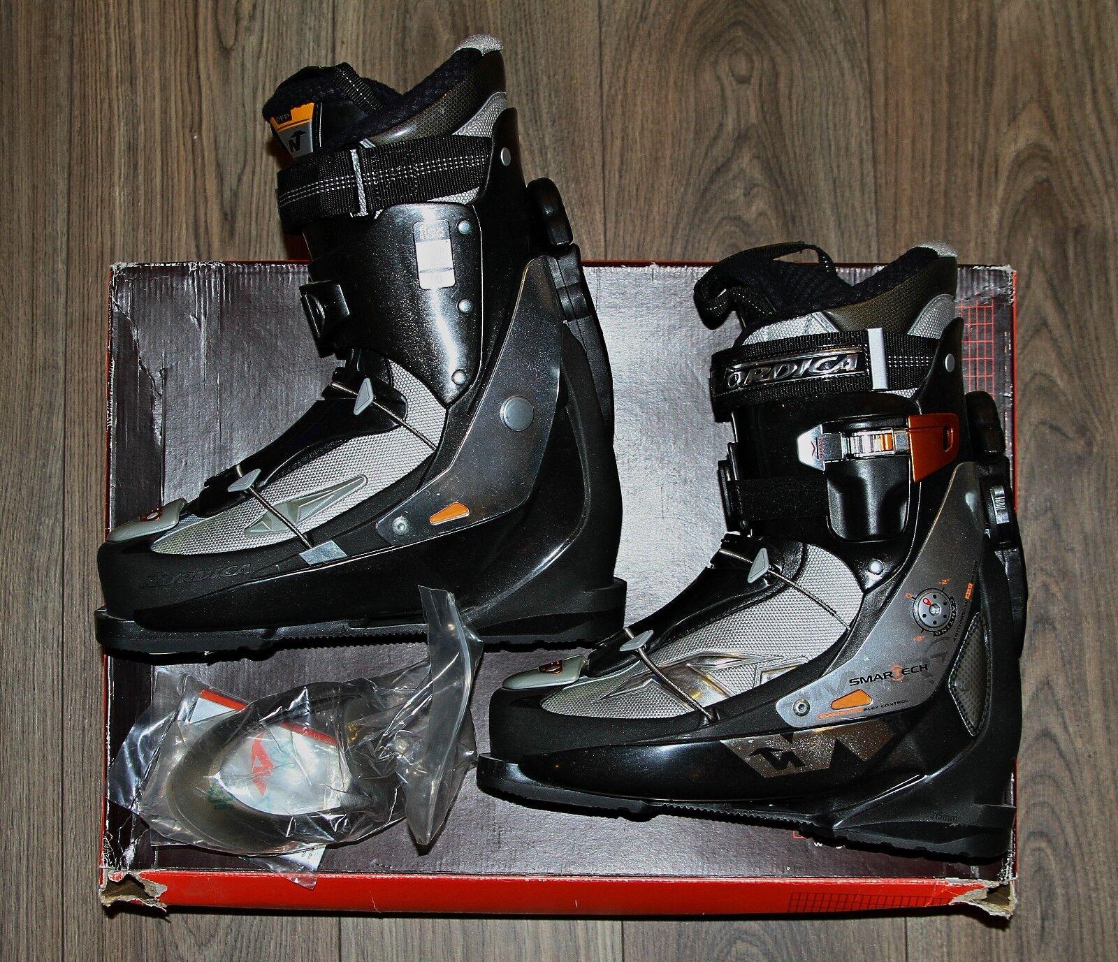 NORDICA SMARTECH 10 All Mountain Skischuh SKI Schuhe Herren MP 30 GR. 45.5 schwarz