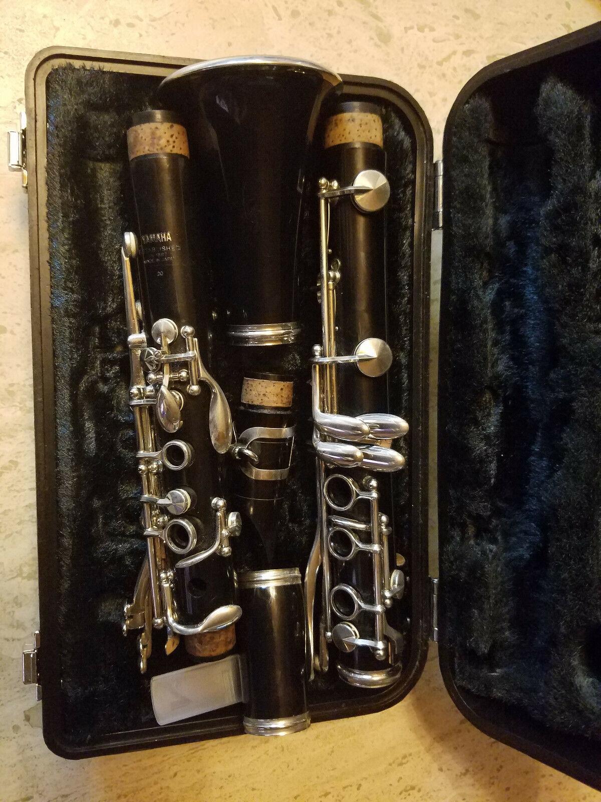 Bb-Klarinette, Hersteller Yamaha, Böhm-System, mit Koffer in sehr gutem Zustand