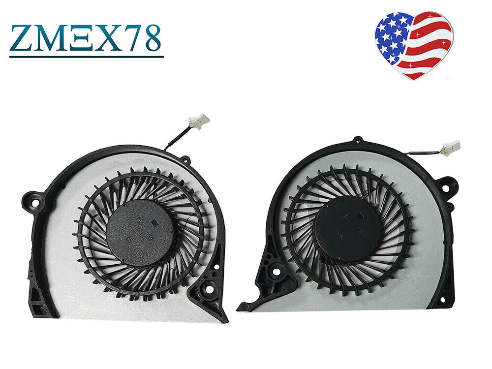For Dell Inspiron G7-7577 G7-7588 P72F Notebook CPU & GPU Cooling Fan