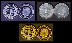 COLLECTION-DES-3-COPIES-DE-L-039-ESSAI-10-FRANCS-PETAIN-1941-PAR-SIMON
