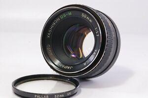 Vintage-lens-Yashica-Yashinon-DS-M-50mm-F1-7-M42-screw-mount-Ref-231913