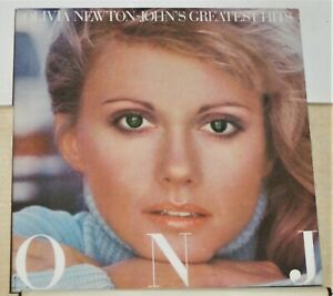 Olivia-Newton-John-Greatest-Hits-1977-LP-Record-Album-Near-Mint-Vinyl