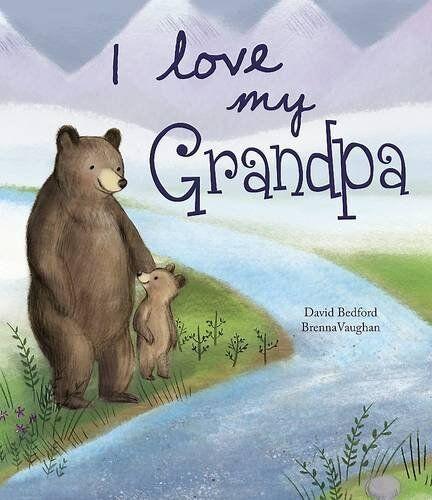 I Love My Grandpa - Picture Story Book