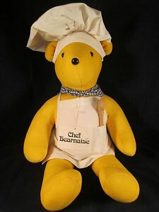 "North American Bear VIB 1979 Chef Bearnaise 20"" Bear ~ VINTAGE ~ EXCELLENT wTAGS"