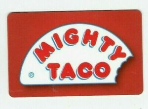 Mighty-Taco-Gift-Card-Fast-Food-Restaurant-No-Value-I-Combine-Shipping