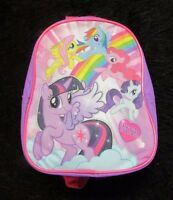 My Little Pony Rainbow Dash Pinkie Pie Fluttershy Back Pack Purse Mlp Hasbro