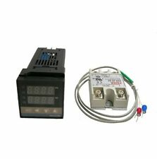 Probe Radiators Digital Thermostat Solid State Relay Temperature Controllers New