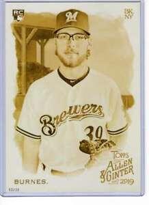 Corbin-Burnes-2019-Allen-and-Ginter-5x7-Gold-206-10-Brewers