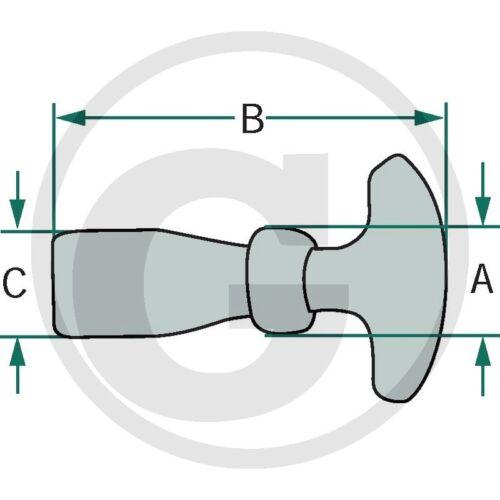 Haubenhalter/_65mm/_Komplettset/_Halter für Motorhaube/_Traktor/_Schlepper/_/_/_/_/_/_/_/_/_/_/_
