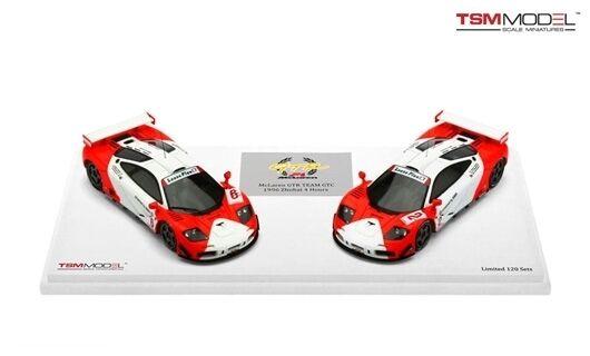 McLaren F1 Gtr Marlboro & Cars Set 4h Zhuhai 1996 1 43 Model
