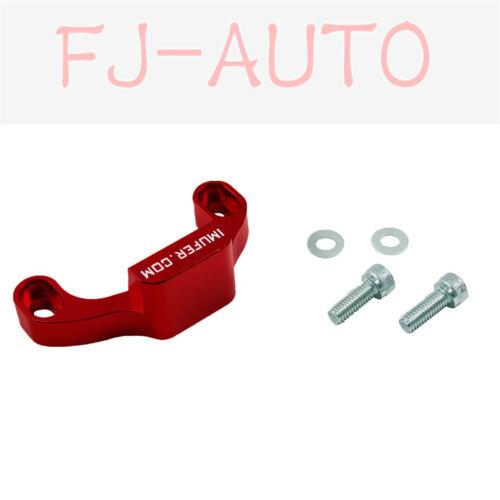 CNC Machined High Performence RED 2010+Subaru Short Shifter Stop Gap Remover