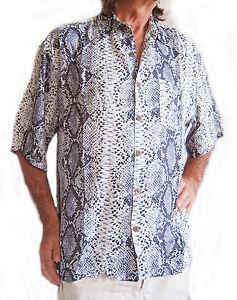 """Da Uomo Cervo Costume Camicia Hawaiana Loud L 48/"""" petto Nuovo di Zecca"""