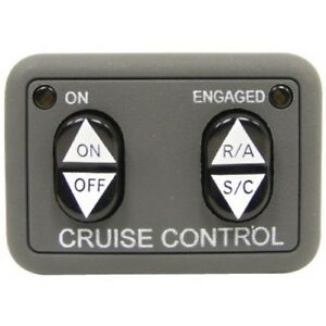 250-3592-ROSTRA-UNIVERSAL-DASH-MOUNT-CRUISE-CONTROL-SWITCH-OPEN-CIRCUIT-NEW