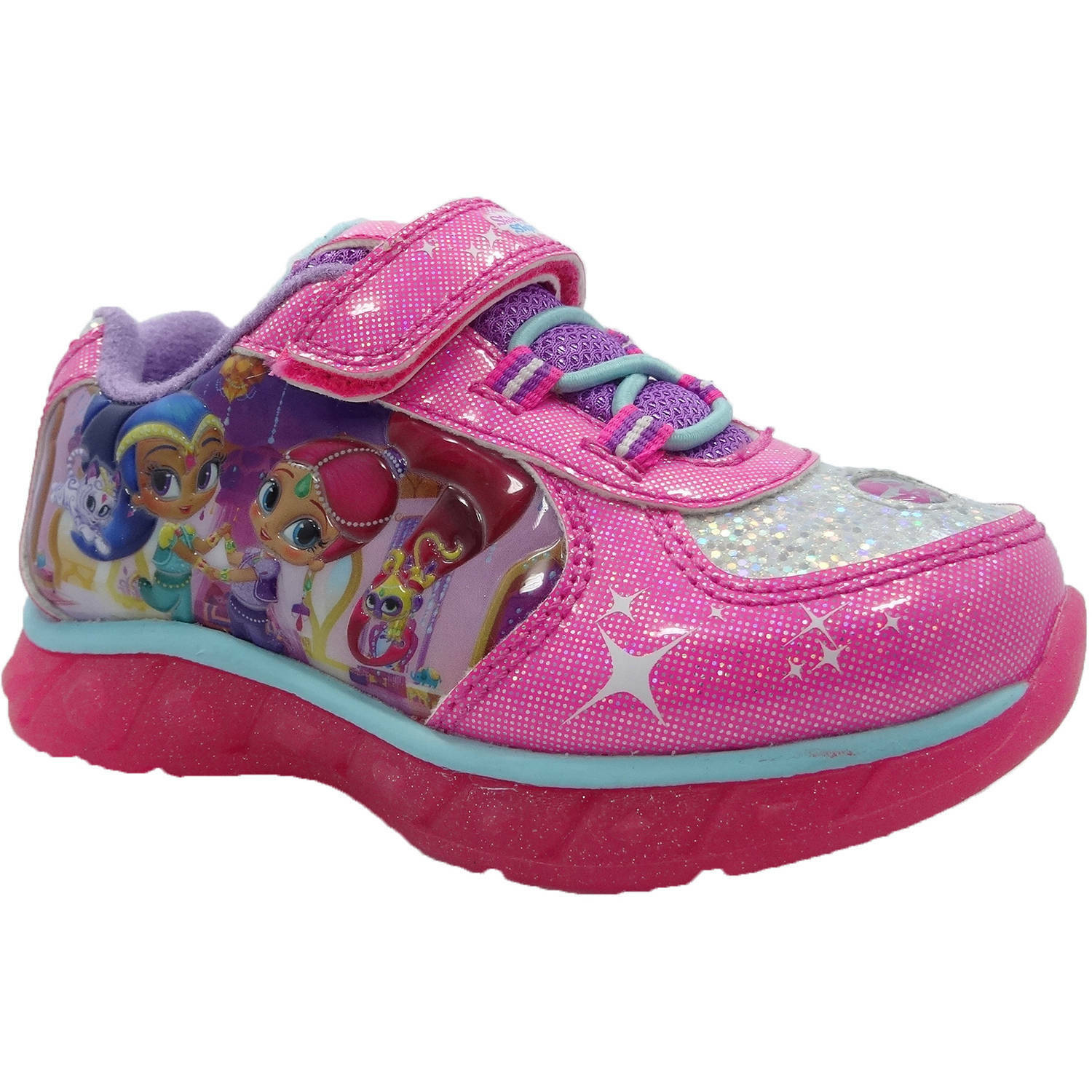 shimmer and shine light up sneakers