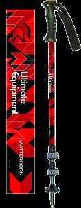 Lever-Lock Trekking Poles PAIR Ultimate Equipment Matterhorn RRP £55.00