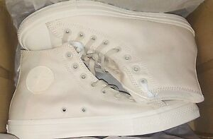 Converse Chuck Taylor All Star II 2 HI high top OFF-WHITE Lunarlon ... 10dec7327