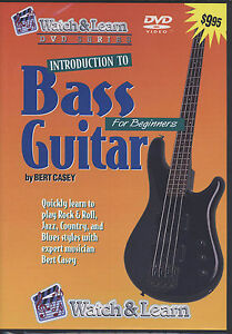 learn how to play bass guitar rock and roll jazz country blues beginners dvd ebay. Black Bedroom Furniture Sets. Home Design Ideas