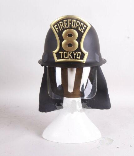Fire Force Cosplay Hat Helmet Armor Gloves Halloween Handmade Prop Accessory