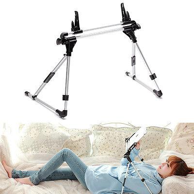 Auto Lock Tablet Mount Holder Floor Desk Bed Sofa Stand for iPad 2 3 4 5 Samsung