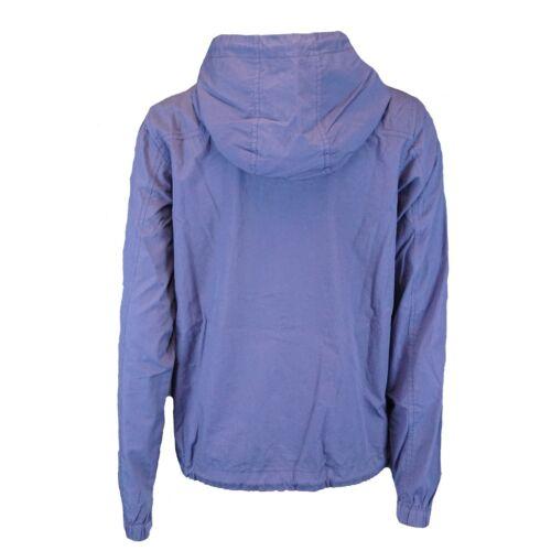 MADNESS Jacke mit Kapuze Blau Damen Bio Baumwolle Papertouch GOTS Fair Übergang