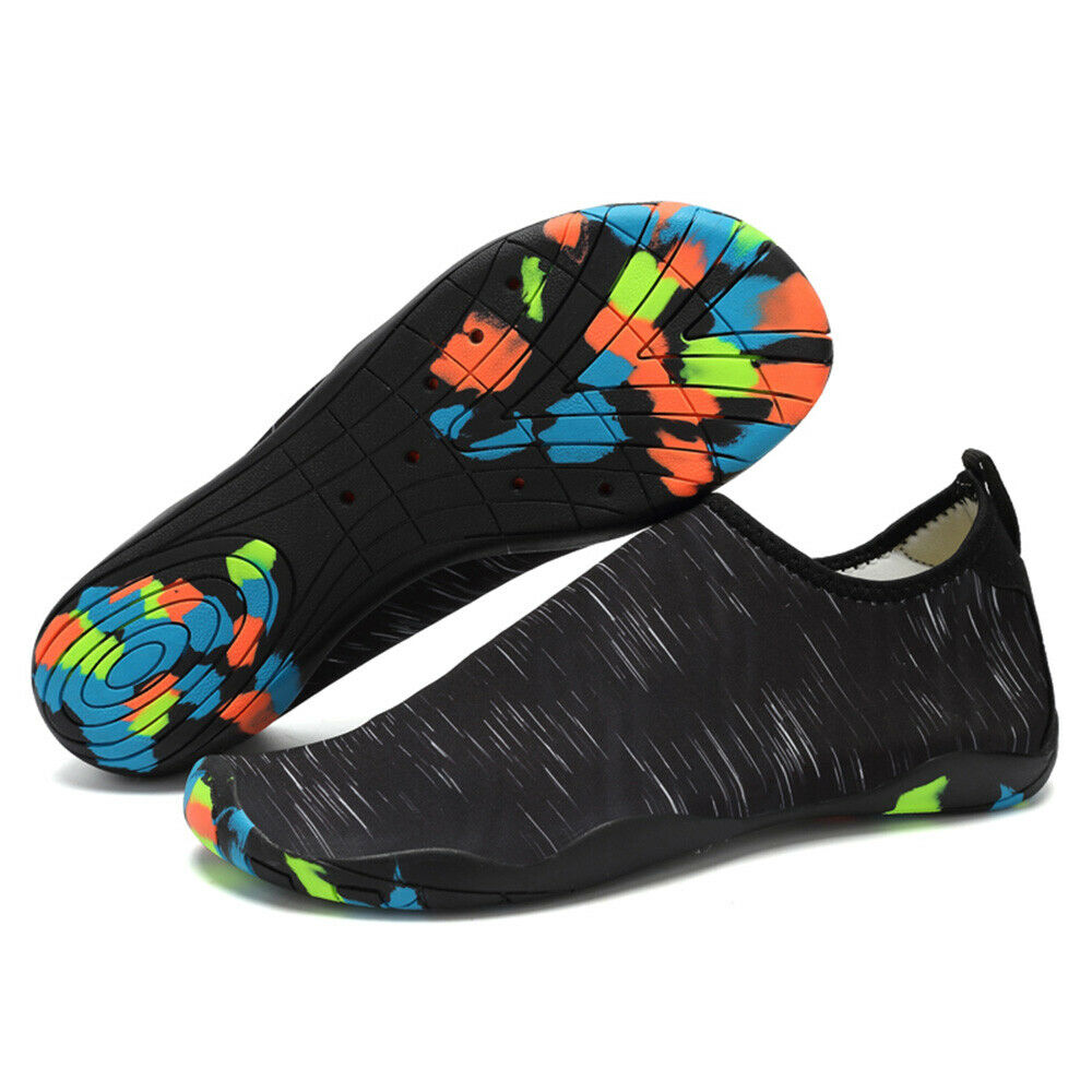 Men Women Water Shoes Sports Quick Dry Barefoot for Swim Diving Surfing D4G7