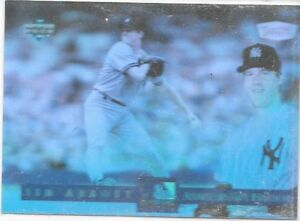 Details About Jim Abbott 1994 Upper Deck Dennys 125th Anniversary Hologram Baseball Card