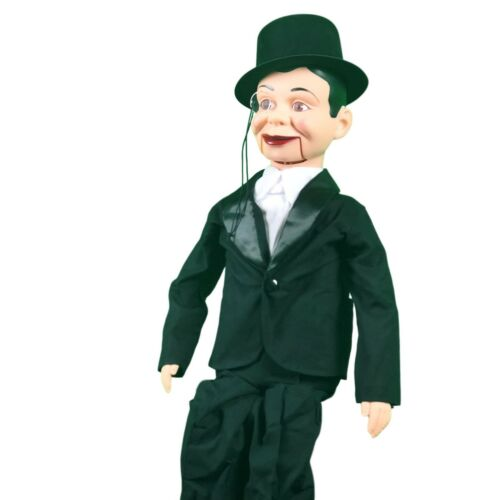 Charlie McCarthy Standard Upgrade Ventriloquist Dummy ThrowThings Quality!