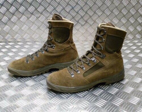 Meindl Boots Brown Leg Desert Combat Issue Genuine Liability Army Hi Desert RSnwTqU