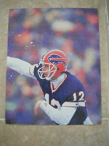Jim Kelly Buffalo Bills Football NFL Color Candid Coffee