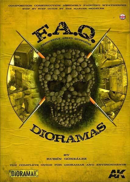Dioramas FAQ book by Rubén González - AK8000