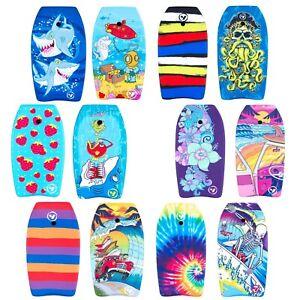 """Bodyboard & Bride Cheville 33"""" 37"""" 41"""" Enfants Adultes Surf Beach Boogie Board Swim Sun-afficher Le Titre D'origine"""