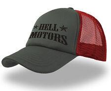 Hellmotors Trucker Cap Hot Rod Rocker Basecap Oldschool Mütze Rockabilly V8 Hat
