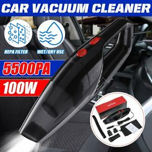 Cord Car Vacuum Cleaner Handheld Home Rechargeable Wet Dry Duster Portable