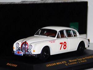 JAGUAR MK2 #78 WINNER TOUR DE FRANCE 1960  IXO RAC098 1/43