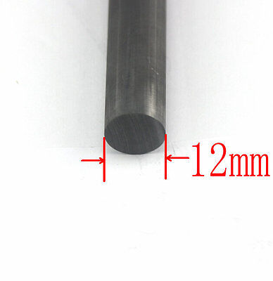 NEW 12mm THICK CARBON GRAPHITE ROD 12x 300mm LONG MIXING STIRRING CARBON ROD