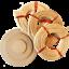 Flechtset-Korbflechtset-Peddigrohr-Rattan-Sets-Korbflechtboden-Papiergarn-uvm miniature 6
