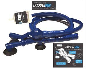 Bubblegen.   Circulation efficace.   Des courants de bulles sans fin