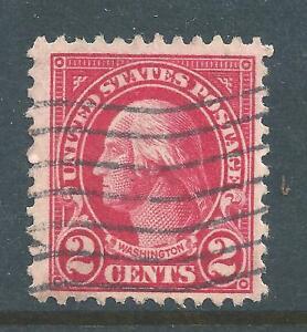 1923 United States stamp George Washington Scott#: 554 Perf 11