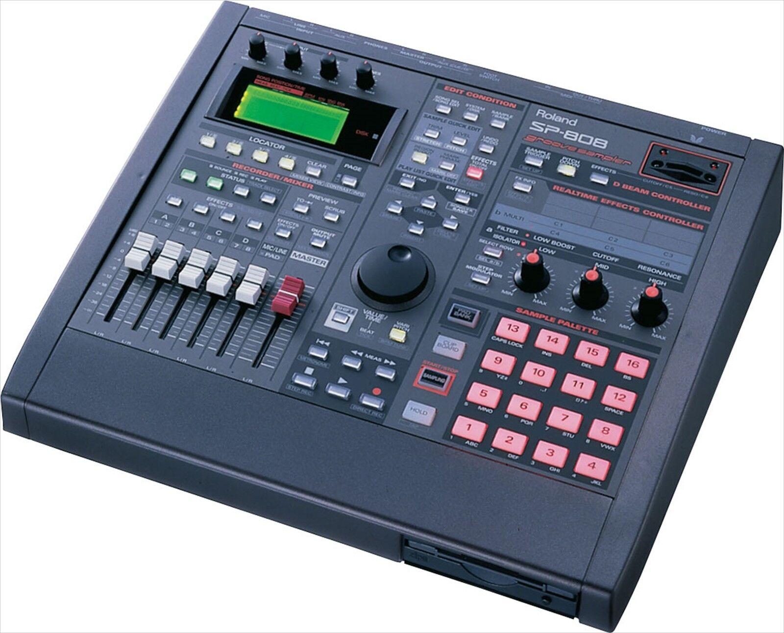 Roland Groove Sampler SP-808 Desktop Sequencer Used F S EMS from Japan