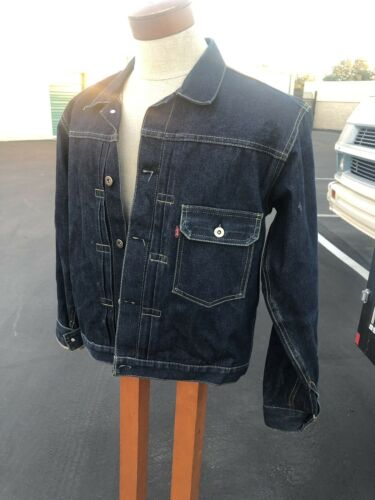 LEVI'S 71506 506XX Indigo Denim Jacket SIze 40 Rep