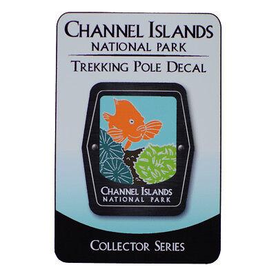 Virgin Islands National Park Trekking Pole Decal Caribbean Tropical Fish