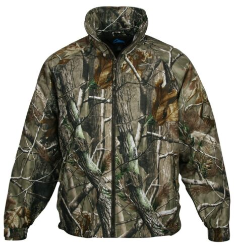 HEAVYWEIGHT FLEECE LINED CAMO POCKETS S-4XL MENS 3 SEASON CAMOUFLAGE JACKET