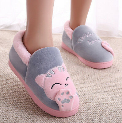 Top Cotton Shoes Comfortable Cat Paw Unisex Casual Home Warm Snow Winter Ankle