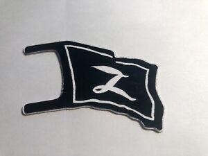MARX-Zorro-PLAY-SET-DIE-CUT-ALUMINUM-FLAG-Reissue