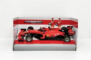 Bburago-Scuderia-Ferrari-Charles-Leclerc-SF90-1-43-Die-Cast