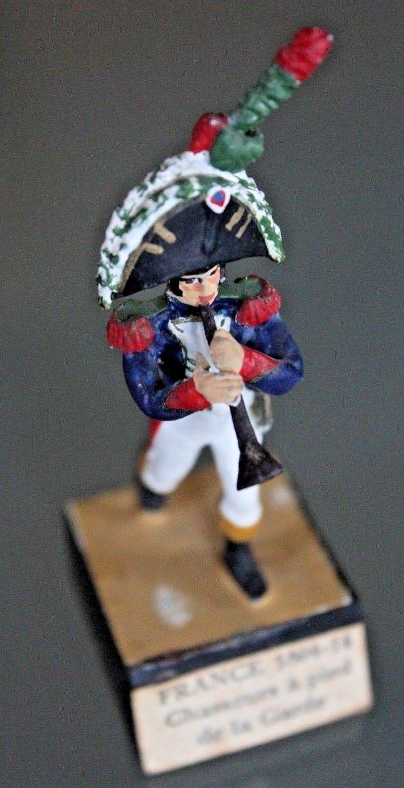 Soldat Blei Almirall Almirall Almirall Années 70 Jäger der Garde Trompete Premier Empire 96d4cb